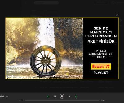 Pirelli'den yol şarkıları