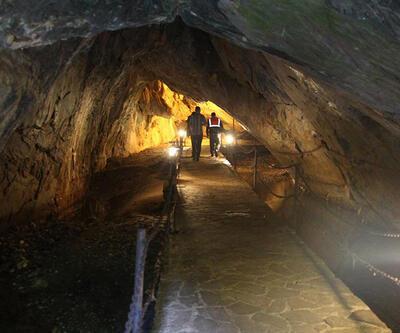 Dupnisa Mağarası'na ziyaretçi ilgisi