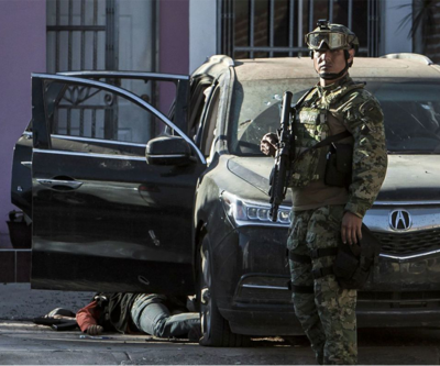 Meksika'da pusuya düşürülen 4 polis öldürüldü