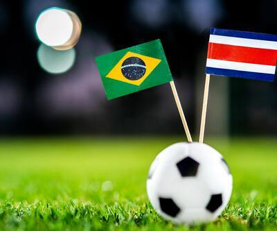 Brezilya - Kosta Rika / Dünya Kupası / Sambacılar üstün