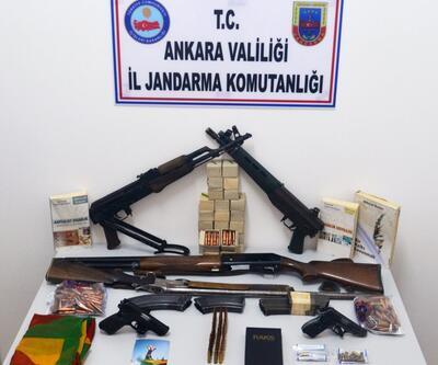 Ankara'daki terör operasyonunda 11 gözaltı
