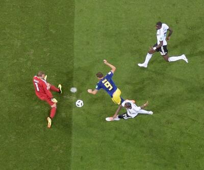Almanya 2-1 İsveç Maç Özeti