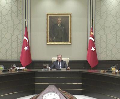 Cumhurbaşkanı Erdoğan, Başbakan ve bakanları topladı
