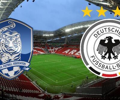 Güney Kore-Almanya maçı izle   TRT 1 canlı yayın (Dünya Kupası)