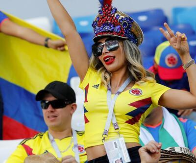 Kolombiya taraftarı heyecanlı