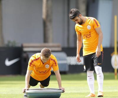 Galatasaray'da Tolga Ciğerci yine antrenmana katılmadı