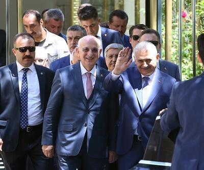 Başbakan Yıldırım'dan veda ziyaretleri