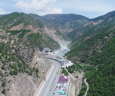 Zigana Tüneli'nde inşaat sürecinin yarısı tamamlandı