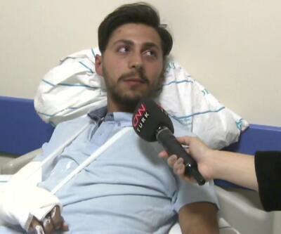 Çorlu'daki kaza anını anlattı: Kapıdan uçtuk