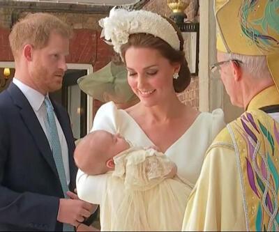 Prens Louis vaftiz oldu