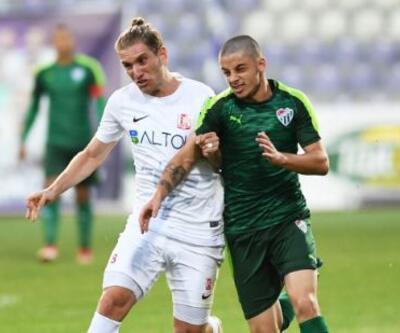 Bursaspor 0-1 Balıkesirspor Baltok / Maç Özeti