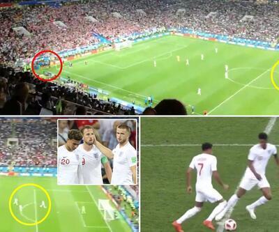Hırvatistan - İngiltere maçında bu pozisyon televizyonlarda gösterilmedi