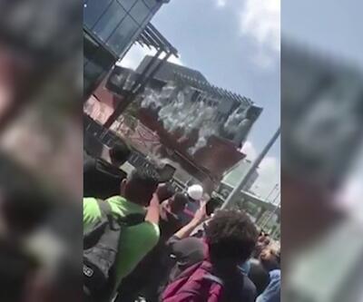 Meksika'da korkutan kaza