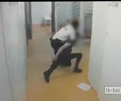 Fransa'da polis şiddeti kamerada