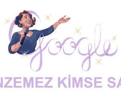 Google'dan Müzeyyen Senar için özel Doodle | Müzeyyen Senar kimdir?