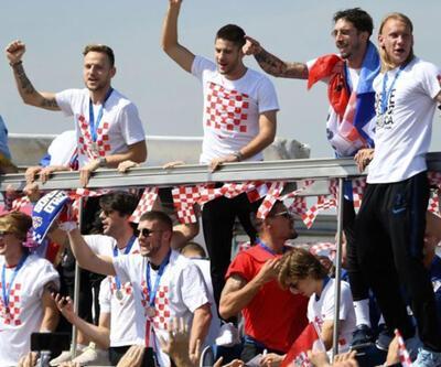 Hırvatistan şampiyon gibi karşılandı