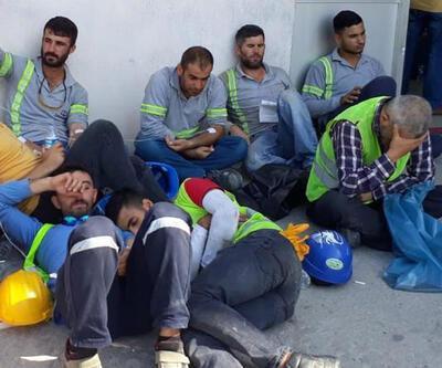 450 işçi gıda zehirlenmesiyle hastanelik oldu