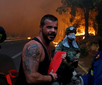 Yunanistan'da büyük yangın: Bilanço ağırlaşıyor