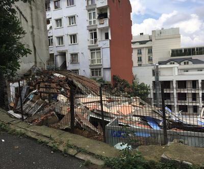 Çöken binanın sokağında ürküten görüntü: 6 bina mühürlendi