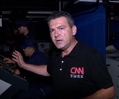 CNN TÜRK göçmen kaçakçılığıyla mücadeleyi görüntüledi - Göçmenlerin İzinde 1