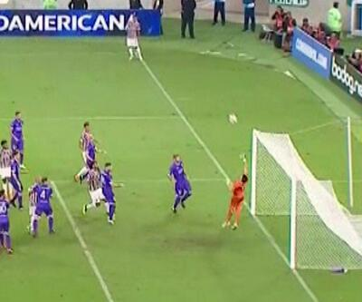 Kornerden gol attı... Fluminense 2-0 Defensor Sporting / Maç Özeti