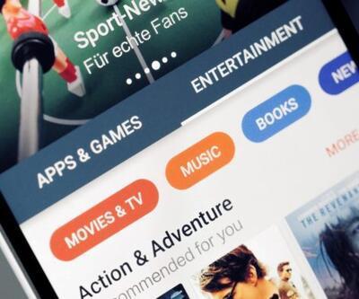 Google Play tasarım değişikliğine gitti