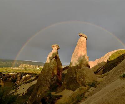 Kapadokya'daki Üç Güzeller'i her yıl 3 milyon turist ziyaret ediyor