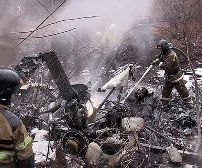Helikopter düştü, 18 kişi öldü