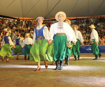 Karadeniz'de renkli festival
