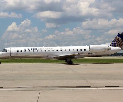 United Airlines uçağı acil iniş yaptı