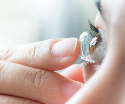 Yazın kontakt lens kullanırken dikkat!