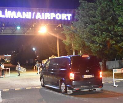Tahliye edilen Yunan askerlere özel uçak