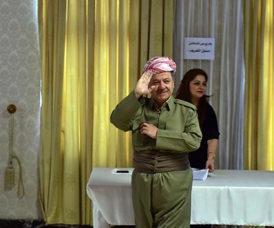 Barzani'den Irak Başbakanı'na tam destek