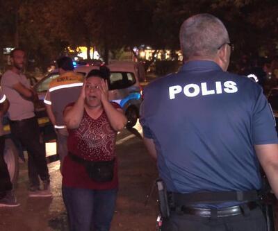 Konya'da facia... Otomobil çiçek satan kadının üzerine düştü
