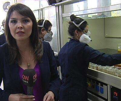MTA laboratuvarı kapılarını CNN TÜRK'e açtı