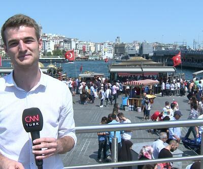 İstanbullular gitti, turistler geldi