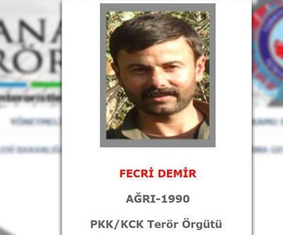 Gri listede yer alan terörist Fecri Demir öldürüldü