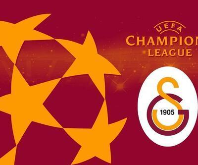İşte Galatasaray'ın Şampiyonlar Ligi fikstürü