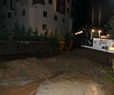 Trabzon'da aşırı yağış sel ve heyelana neden oldu