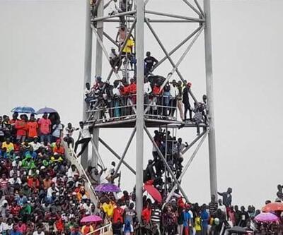 25 bin kişilik stada 40 bin kişi sığdı