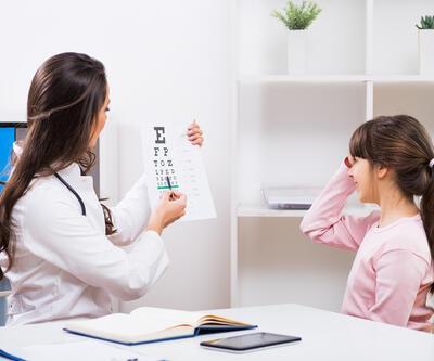 Çocuklardaki göz tembelliği ihmal edilmemeli
