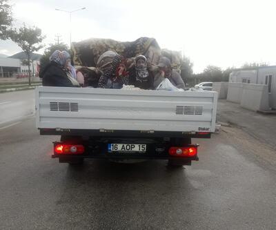 Ölüm yolculuğuna trafikten men ve para cezası