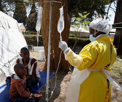 Kolera salgını 55 can aldı