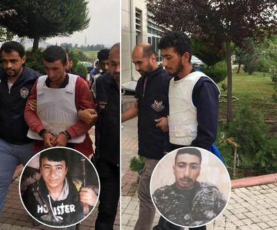 YPG şüphelisi kardeşler tarlada yakalandı