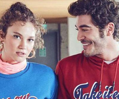 Melisa Şenolsun ile Burak Deniz aynı reklamda buluştular