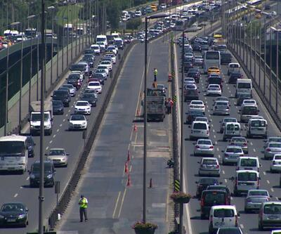 Okullar açıldı, trafik arttı