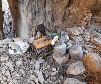 Herekol Dağı'nda teröristlere obüs atışı