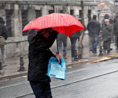 Hava durumu bugün nasıl? Meteoroloji'den kuvvetli yağış uyarısı geldi
