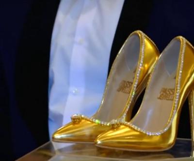 Gerçek elmas ve altınla süslendi... İşte dünyanın en pahalı ayakkabısı