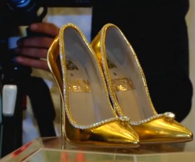 İşte dünyanın en pahalı ayakkabısı
